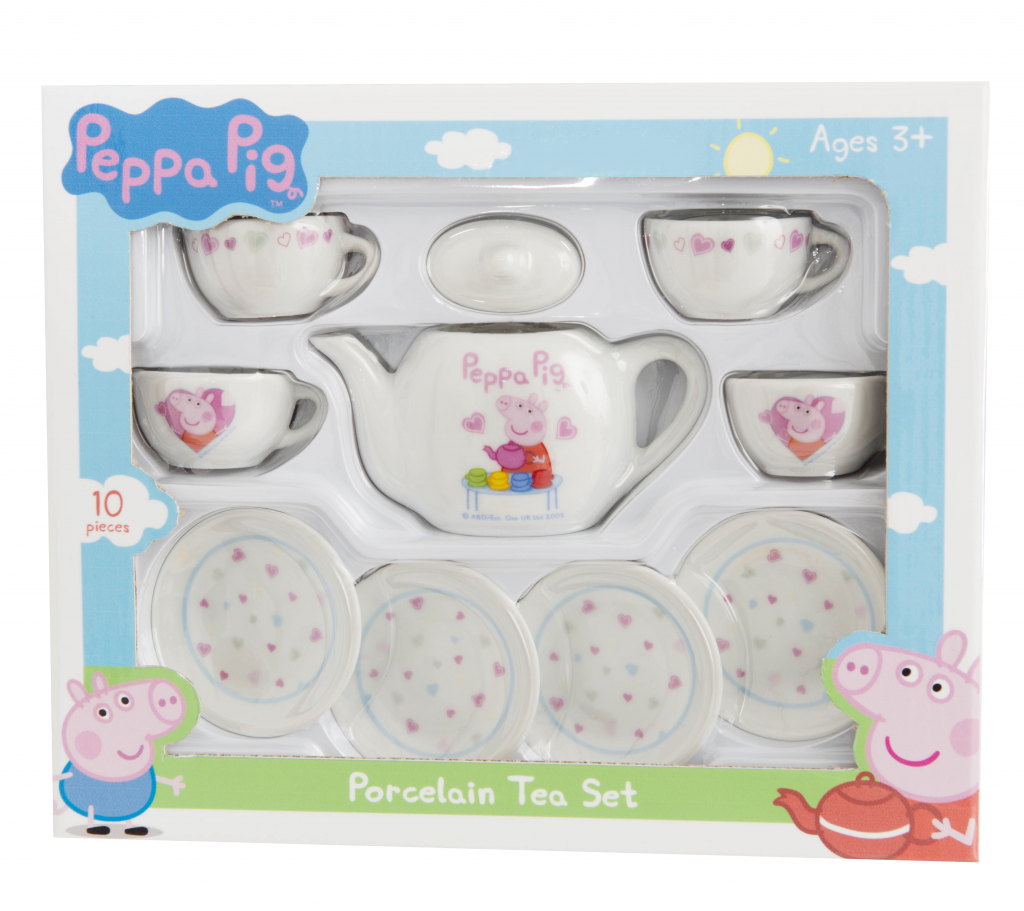 Pepper Pig Porcelain Tea Set