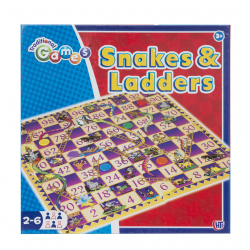 HTI Toys Traditional Games Snakes & Ladders