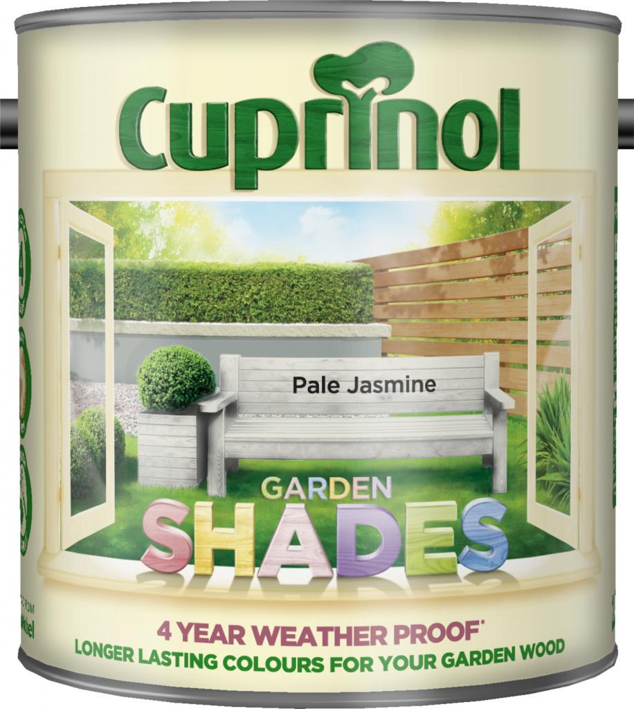Cuprinol Garden Shades 2.5L - Pale Jasmine