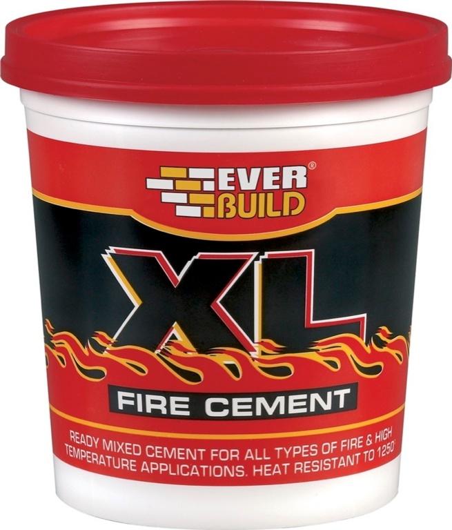 Everbuild XL Fire Cement - 2kg