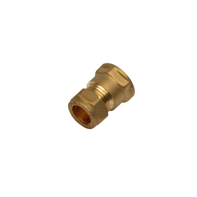 SupaPlumb Compression Coupling Female Pack 5 - 15mm x 1/2""