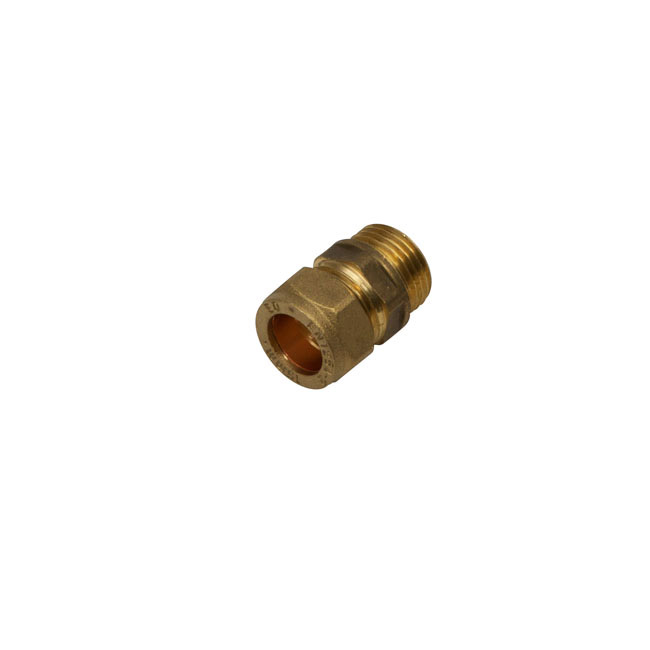 SupaPlumb Compression Coupling Male Pack 5 - 15mm x 1/2""