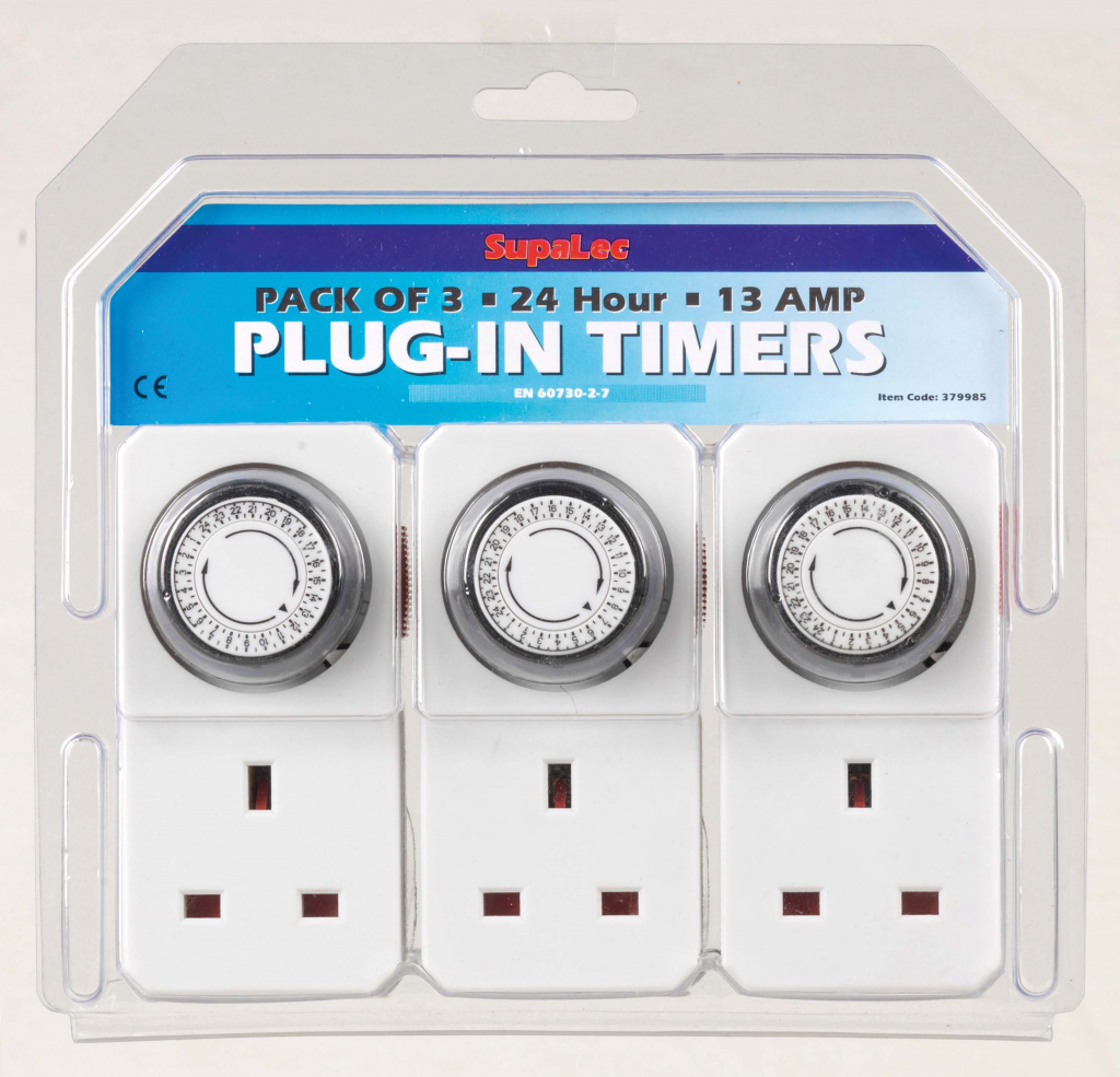 Supalec Plug In Timer Stax Trade Centres