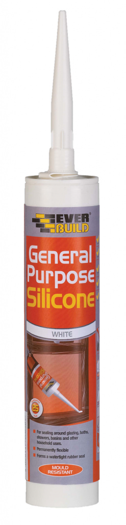 Everbuild General Purpose Silicone - C3 White 310ml