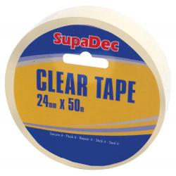 SupaDec Clear Tape