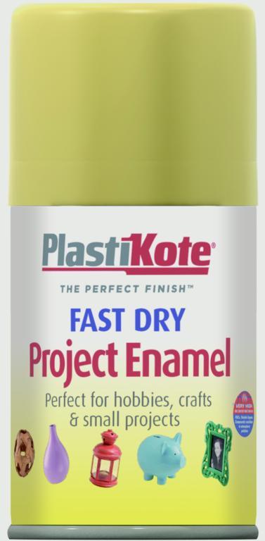 PlastiKote Fast Dry Enamel Aerosol Paint - Gold Leaf - 100ml