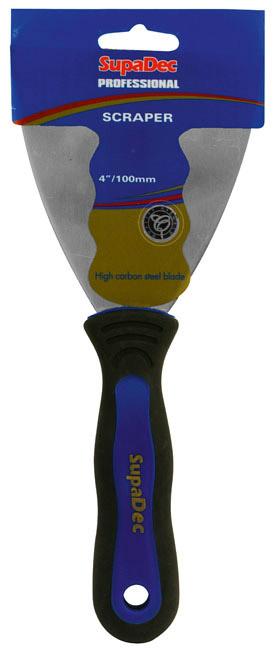 "SupaDec Professional Soft Grip Paint Scrapers - 4""/100mm"