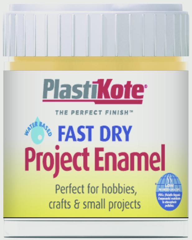PlastiKote Fast Dry Enamel Brush On - Gold Leaf - 59ml Bottle