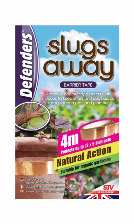 Defenders Slugs Away Barrier Tape - 4m