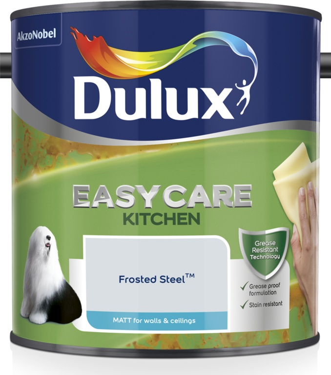 Dulux Easycare Kitchen Matt 2.5L - Frosted Steel