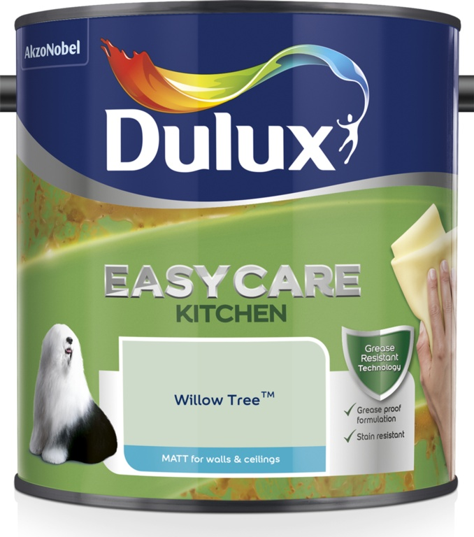Dulux Easycare Kitchen Matt 2.5L - Willow Tree