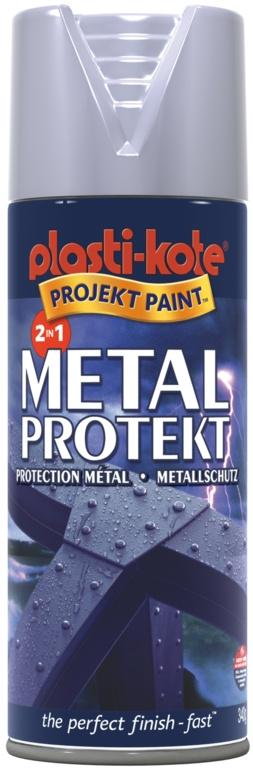 PlastiKote Metal Protekt Paint - Aluminium