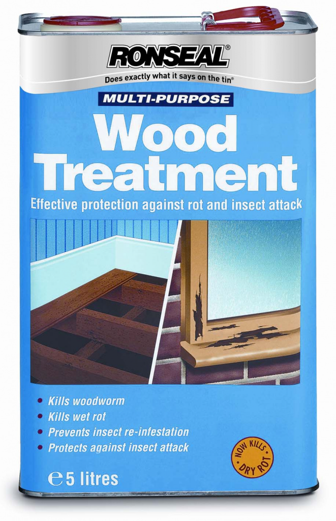 Ronseal Multi Purpose Universal Wood Treatment - 5L