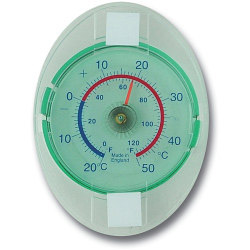 Brannan Dial Thermometer - Window