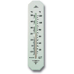 Brannan Short Wall Thermometer - Plastic