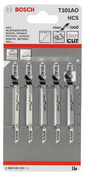 Bosch Clean Wood 1 Lug 101 AO