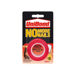 UniBond No More Nails On A Roll Double Sided