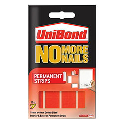 UniBond No More Nails Permanent Strips