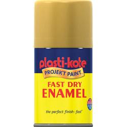 PlastiKote Fast Dry Enamel Aerosol Paint - Creme De La Creme - 100ml
