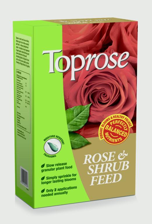 SBM Life Science Toprose Fertiliser - 4kg