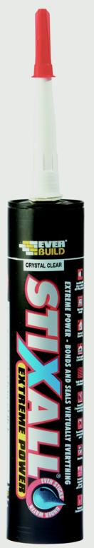 Everbuild StixAll 300ml - Crystal Clear