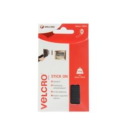 Velcro Stick on Tape 20mm x 0.5m Black