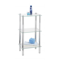 Wenko Bathroom Glass Shelf Unit