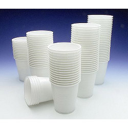 Caroline Plastic Cups - 7oz (200ml) - 100