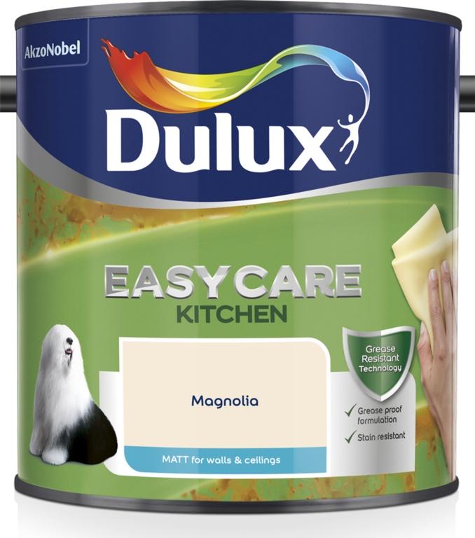 Dulux Easycare Kitchen Matt 2.5L - Magnolia