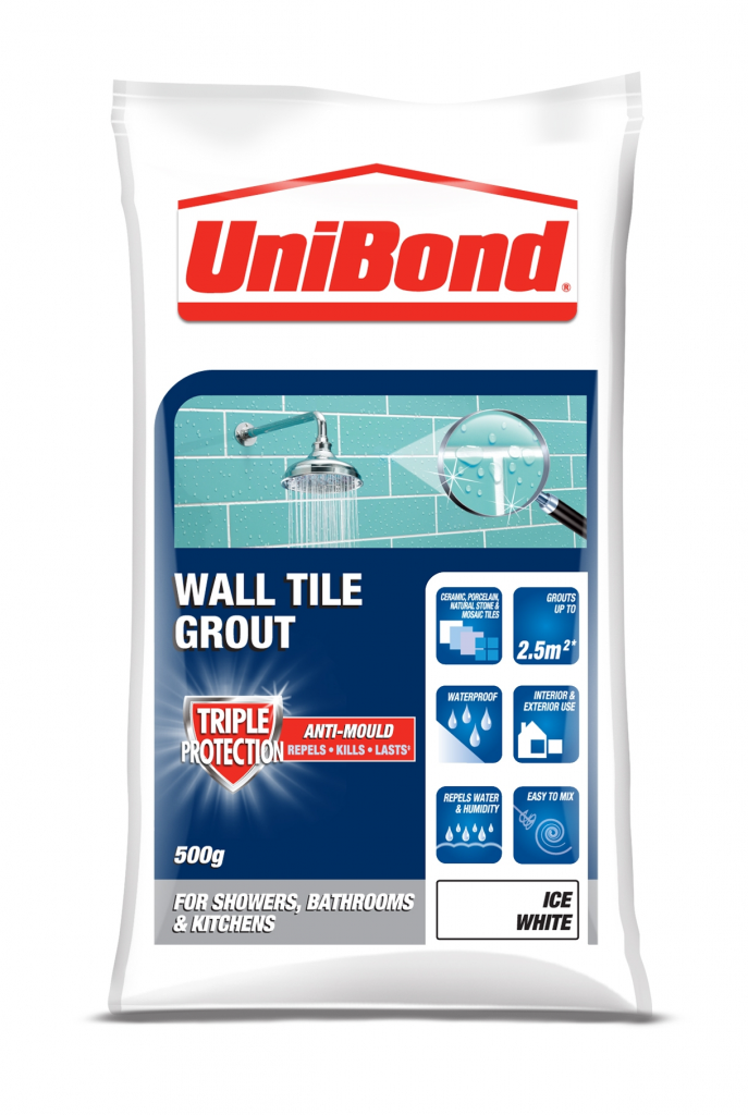 Unibond Wall Tile Grout Triple Protection Stax Trade Centres