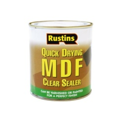Rustins Quick Drying MDF Clear Sealer - 1L