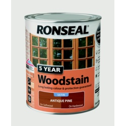 Ronseal 5 Year Woodstain 750ml Stax Trade Centres