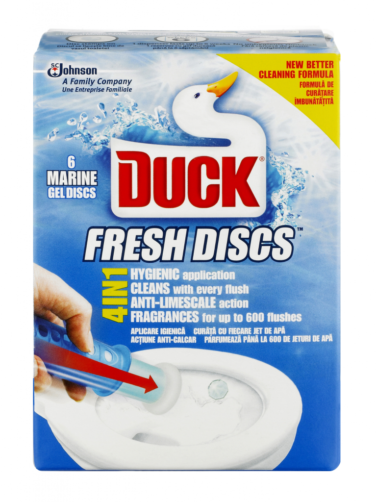 Toilet Duck Fresh Discs - Marine