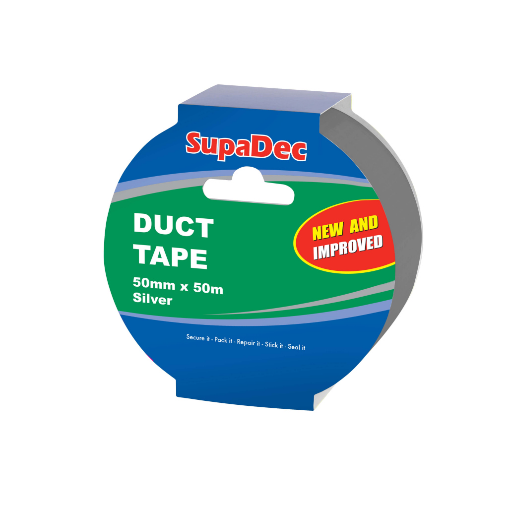 SupaDec 50m Duct Tape - Silver
