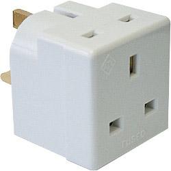 Dencon 13A, 2 Way Multiplug