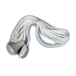 Dencon Spare Pull Cord for Ceiling Switch, White