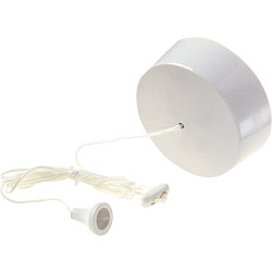 Dencon 6A, 1 Way Ceiling Switch to BS3676/BSEN60669