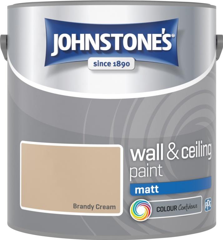 Johnstone's Wall & Ceiling Matt 2.5L - Brandy Cream