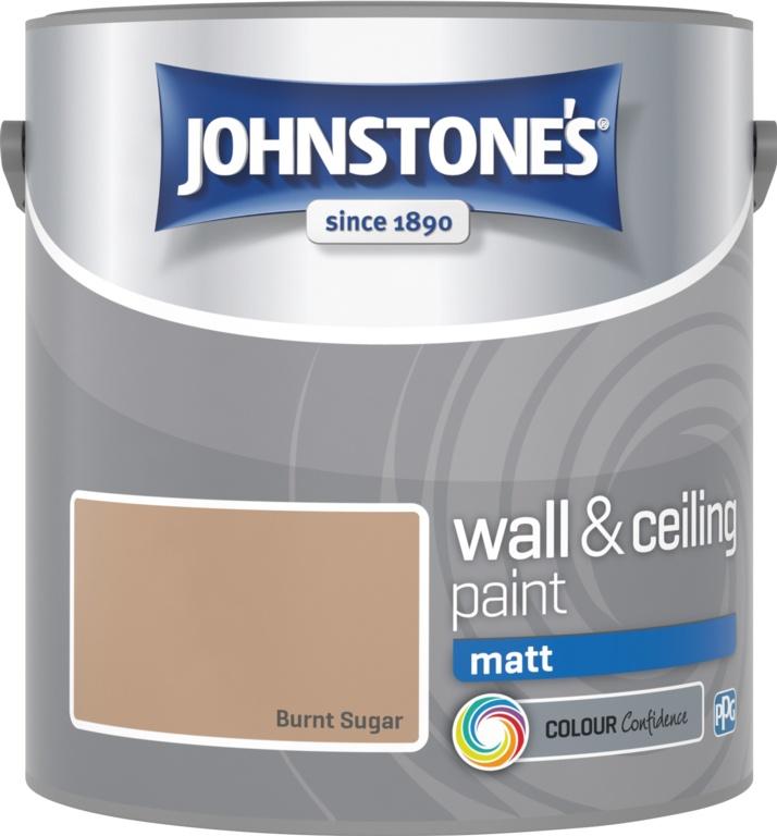 Johnstone's Matt 2.5L - Burnt Sugar