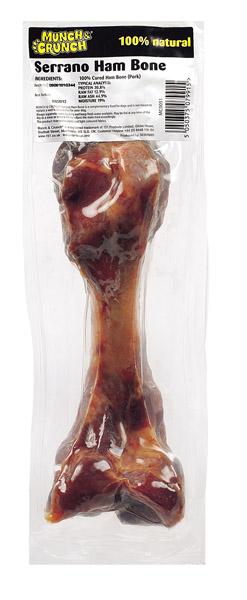 Munch & Crunch Serrano Ham Bone - Big