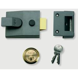 Yale Deadlocking Standard Nightlatch Security Lock