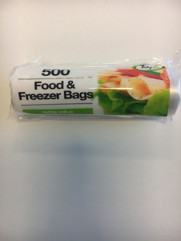 Tidyz Food Bags - Roll of 500