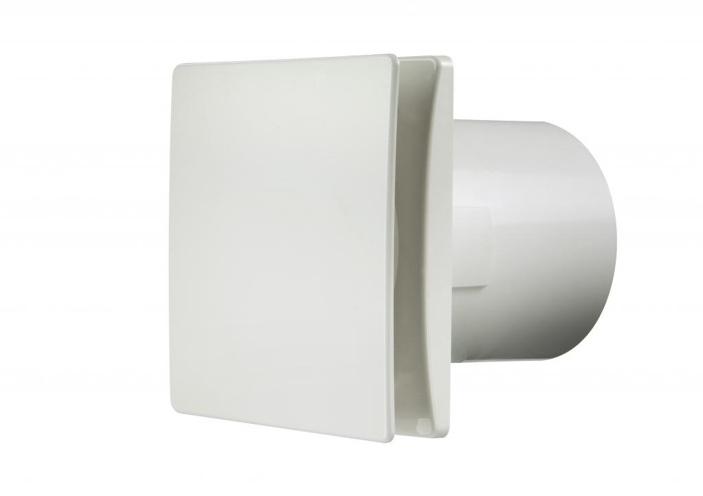 Manrose Tile Fan Adjustable Timer - White