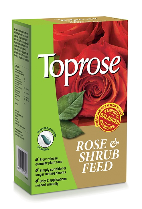SBM Life Science Toprose Rose & Shrub Feed - 1kg Carton