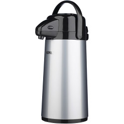 Thermos Push Button Pump Pot 1.9L - Stainless Steel