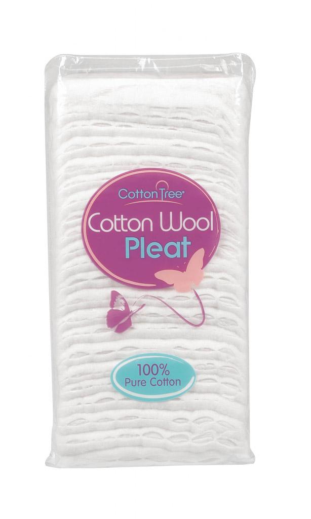 Cotton Tree Cotton Wool - 125g Pleat