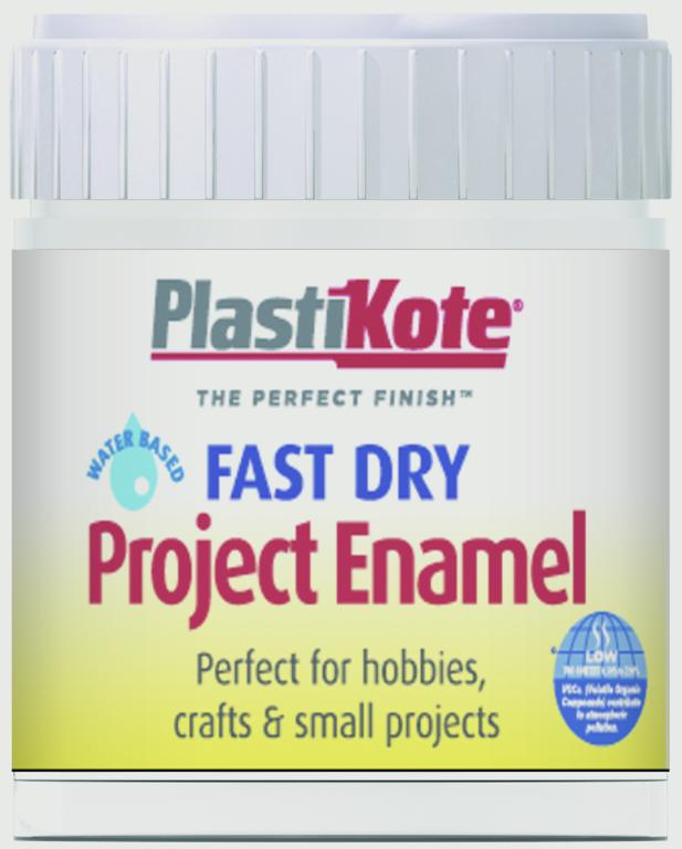 Plasti-kote Fast Dry Enamel Brush On - Clear - 59ml Bottle