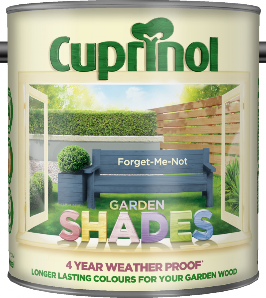 Cuprinol Garden Shades 2.5L - Forget Me Not