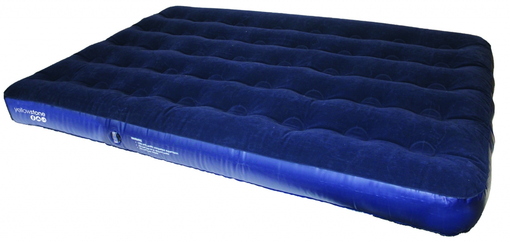 Yellowstone Double Flocked Air Bed