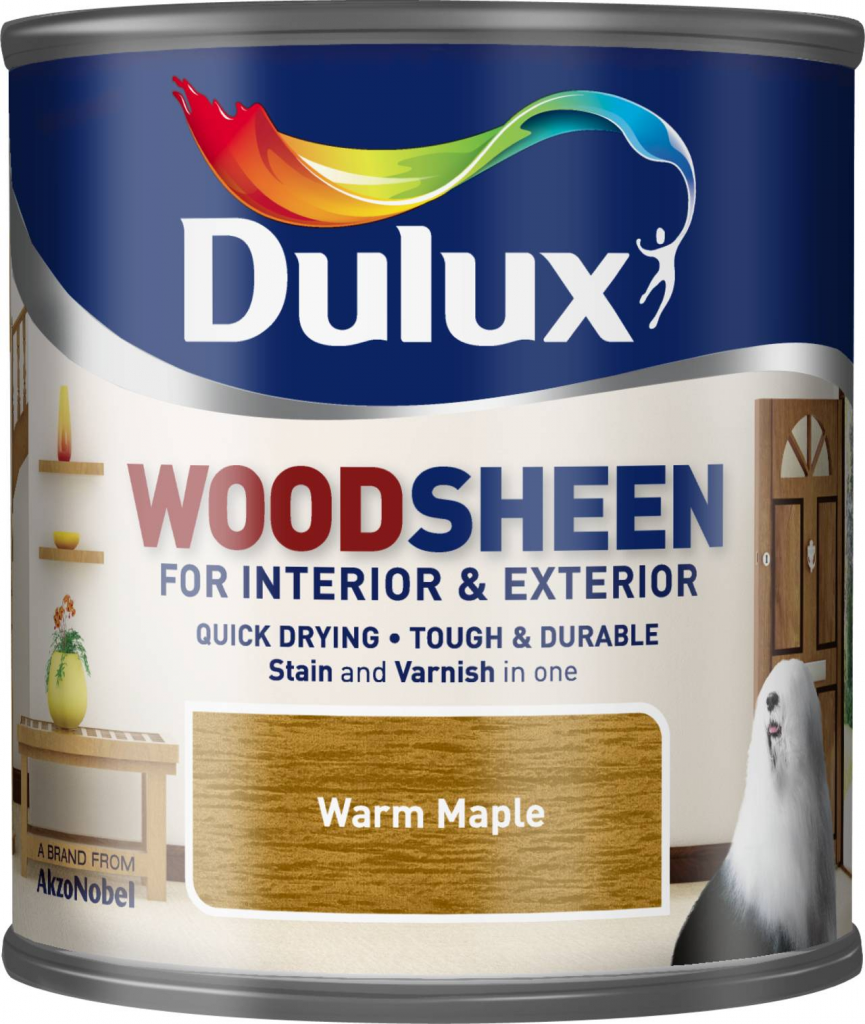 Dulux Woodsheen 250ml - Warm Maple